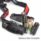 LSON RJ-0183 LED 100lm 3-Mode White Zooming Headlamp - Black (1 x 18650 / 3 x AAA)