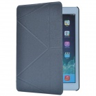 Oracle Style Protective PU Leather Case Cover w/ Stand for Ipad AIR - Grey