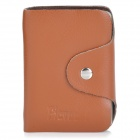 Picvadee 1616 Leather Card Bag Holder - Brown