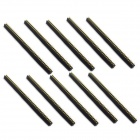 Jtron 1 x 40P Single-row Needle Seat / 2.0 Pitch Single-row Seat - Black (10 PCS)