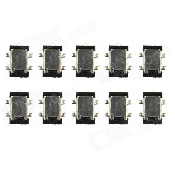 Jtron 5-pin Dual Engine Power Connector Head / Power Socket- Black (10 PCS) tyt tae yeong tbbq3 100iii dual power source automatic switch 16a 3p dual power transfer switch