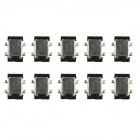 Jtron  5-pin Dual Engine Power Connector Head / Power Socket- Black (10 PCS)