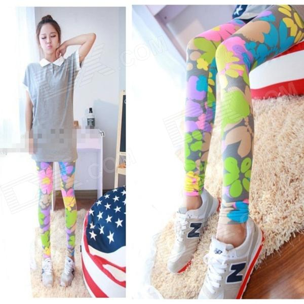 Fashion Women's Ninth Pants Leggings (M)