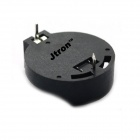 Jtron CR2025 / CR2032 batería genérica Holder - Negro (20 PCS)