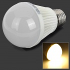 FengYang 006 E27 7W 240lm 3000K 30-SMD 3528 LED Warm White Light Bulb (AC 100~240V)
