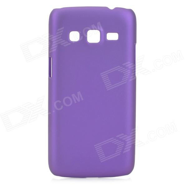 Protective Frosted ABS Back Case for Samsung G3815 - Purple protective frosted abs back case for samsung galaxy express i8730 white