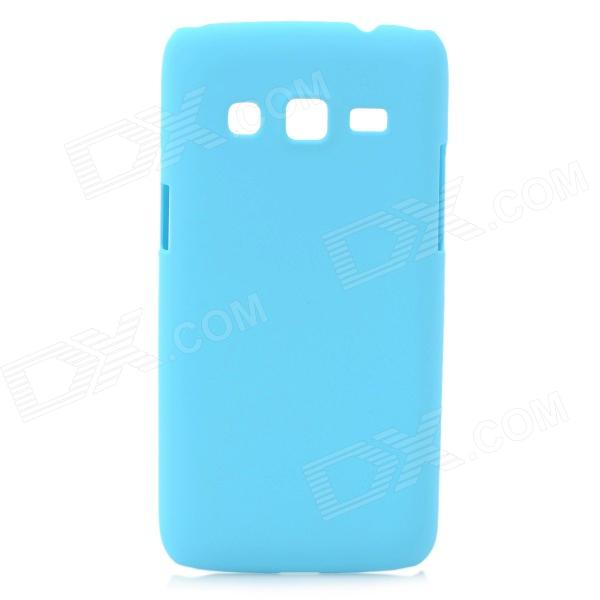 Protective Frosted ABS Back Case for Samsung G3815 - Light Blue protective frosted abs back case for samsung galaxy express i8730 white