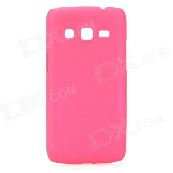 Protective Frosted ABS Back Case for Samsung G3815 - Deep Pink protective frosted abs back case for samsung galaxy express i8730 white