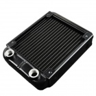 WT-007 12cm Aluminum Radiator / 1/4G Thread Computer Cooler - Black (150 x 120 x 33mm)