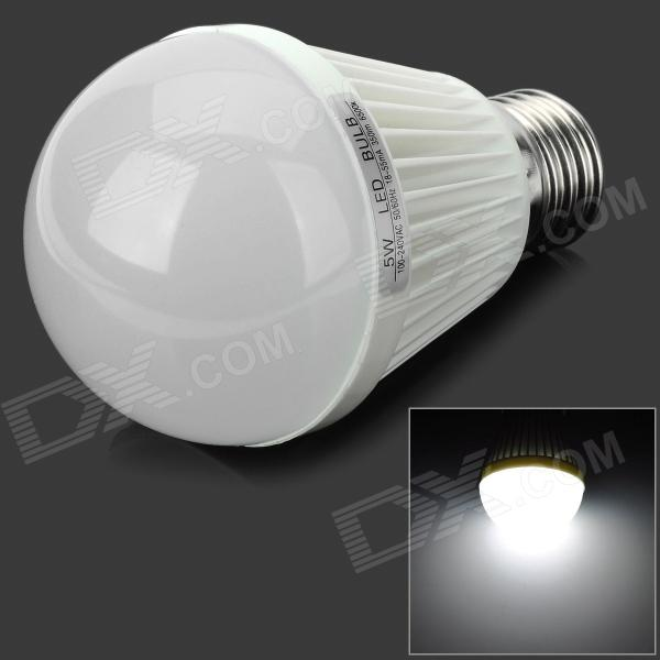 Fengyang E27 5W 180lm 25-SMD 3528 LED Cold White Light Bulb (100~240V)