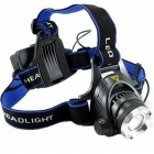 LED 900lm 3-Mode Cold White Light Zooming Headlamp (1 or 2*18650)