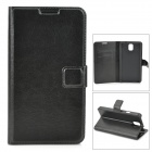 Stylish Protective PU Leather Case for Samsung Galaxy Note 3 N9006 / N9008 / N9009 / N9002 - Black