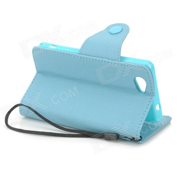 Stylish Protective PU Leather Case for Sony Xperia Z1 Mini ...