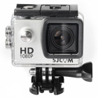 "SJCAM SJ4000 1.5"" 12MP 2/3 CMOS 1080P Full HD Outdoor Sports Digital Video Camera - Silver + Black"