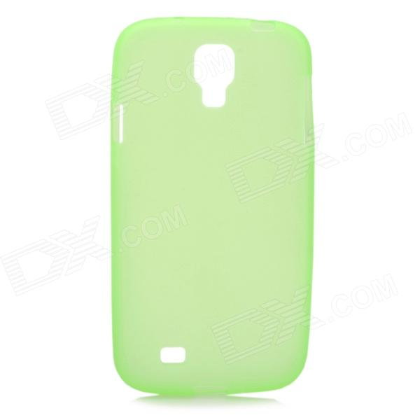 S-What Glow-in-the-Dark Protective TPU Back Case for Samsung Galaxy S4 i9500 - Translucent Green oliver jeffers what s the opposite