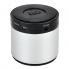 speaker BL-788S Portable Bluetooth Speaker w/ Microphone + Mini USB - Antique Silver + Black