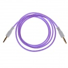 3.5mm Male to Male Audio Cable - Purple (105cm)