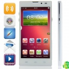 "HD5000(V5/W5) MTK6582 Quad-Core Android 4.2.2 WCDMA Bar Phone w/ 5.0"" HD, FM, Wi-Fi and GPS - White"