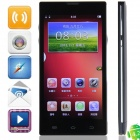 "HD5000(V5/W5) MTK6582 Quad-Core Android 4.2.2 WCDMA Bar Phone w/ 5.0""HD, FM, Wi-Fi and GPS - Black"