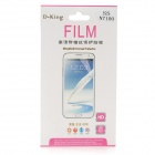 D-King Protective Clear Screen Protector for Samsung Galaxy Note 2 N7100 - Transparent
