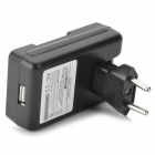 '2100mAh' 'Battery' + 0,8 '' LCD USB Power Adapter Charger + UE Plug para Samsung Galaxy S3 Mini i8190
