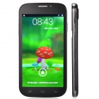 "C30 Quad Core Android 4.2 WCDMA Bar Phone w/ 5.0"" QHD, Wi-Fi, Camera - Black + Silver"