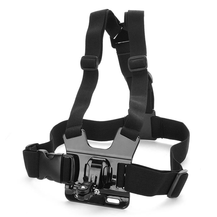 TOZ B Model  Adjustable Chest Mount Harness Camcorder Shoulder Strap for Sony Action Cam - Black аксессуар sony aka wm1 wrist mount band for action cam