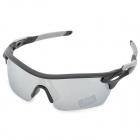 CARSHIRO E9369-C07 Outdoor Sports Polarized UV400 Protection Goggles - Grey + Black