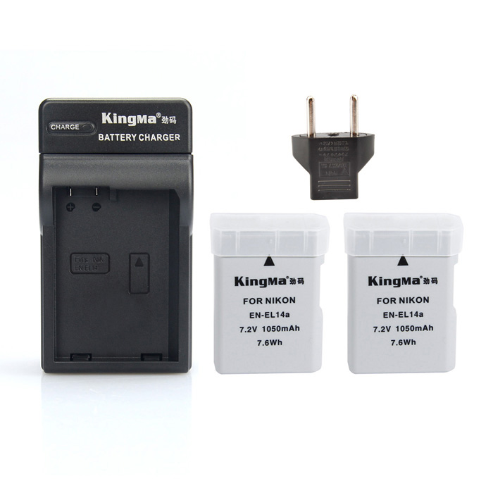EL14A KIT 2 Batteries + Charger for Nikon D3100 D3200 D5100 D5200 D5300 P7800 D3300-NEW bosch smz 5300 00791039