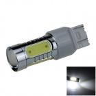 7443 / 7440 / T20 7.5W 400lm 5-LED White Car Steering Light / Tail Lamp / Signal light - (12~24V)