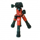 DEBO 5-Section Tripod QQ-66 with Ball Head for SLR Cameras - Black + Red