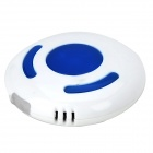 Fashion Portable Bluetooth v3.0 Anti-Lost Device - White + Blue