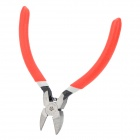 "HUAYU 2501 5"" Bent Handle Diagonal Pliers - Red"