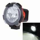 "Circular 60 Degree Flood Light 4"" 55W 4300lm HID White Offroad Lamp / SUV ATV Lamp / Driving Lamp"