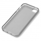 S-What Protective TPU Back Case for IPHONE 5 / 5S - Translucent Black