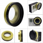 Fat Cat  Professional High Transmittance 37mm FPV Protective  MCUV Lens for Gopro Hero3+ / Hero3