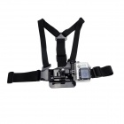 3-Degree-of-Freedom Ergonomics Elastic Chest Mount for Gopro Hero 4/ 3+/3/2/SJ4000