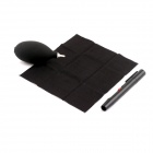 PANNOVO 3-in-1 Lens Pen + Cleaning Cloth + Air-Blower Cleaning Tools Kit