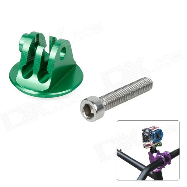 Fat Cat M-HS4 CNC Aluminum Alloy Bike Headset Mount Adapter w/ Screw for Gopro Hero 4/ 3+/3/2/1/SJ4000 цена и фото