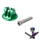 M-HS4 CNC Aluminum Alloy Bike Headset Mount Adapter w/ Screw for Gopro Hero 4/ 3+/3/2/1/SJ4000