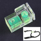 The Camera Hotshoe 2-Dimensional Level - Transparent + Green