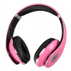 Feiner FE-1513 Stereo Headphones Headset w/ Microphone - Pink (3.5mm Plug / 160cm-Cable)