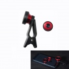 BZ CLIP Multifunction 3-in-1 Fisheye + Wide Angle + Macro Lens for Iphone / Ipad + More - Black