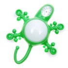 Multi Function Gecko with Clock, Thermometer, Night Light & Hook