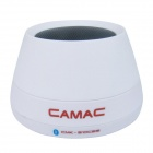 CAMAC CMK-510CBS (Low version) Portable Music Bluetooth V2.1 Speaker w/ TF Reader, FM - White