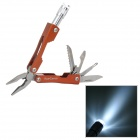 AceCamp 2569 Multi-Tool Plier / LED Light / Saw / Knife / Screw Driver / Bottle Opener Starlight