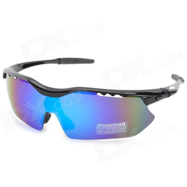 CARSHIRO MS0079 Outdoor Polarized UV400 Protection Resin Lens PC Frame Goggles
