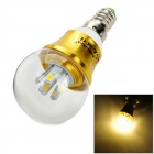 ZHISHUNJIA E14 5W 400lm 3000K 10 x SMD 5630 LED Warm White Light Lamp Bulb - (AC 85~265V)