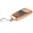 "WeiHeng WH-A17 1.7"" Portable Digital Scale - Golden (50kg / 10g / 2 x AAA)"