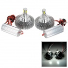 LD EY-5259 H3 30W 2000lm 6500K 6-LED White Car Foglights (12~24V / 2 PCS)
